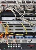 Matériel de réseau images stock