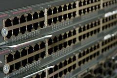 Matériel de réseau actif. Images libres de droits