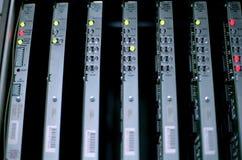 Matériel de réseau de CDA images libres de droits