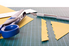 Matériel de Scrapbooking Images stock