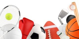 Matériel de sport 1 Images stock