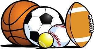 Matériel de sports Illustration Libre de Droits