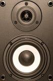 Matériel de système sonore images stock