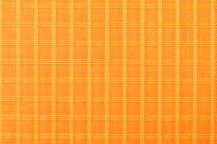Matériel de tissu, durable et durable en nylon orange pour l'équipement, les sacs, les sacs à dos, les tentes et l'habillement photo libre de droits