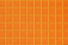 Matériel de tissu, durable et durable en nylon orange pour l'équipement, les sacs, les sacs à dos, les tentes et l'habillement photo stock