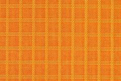 Matériel de tissu, durable et durable en nylon orange pour l'équipement, les sacs, les sacs à dos, les tentes et l'habillement photographie stock