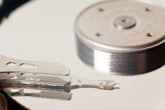Matériel interne de mécanisme de disque dur Photo stock