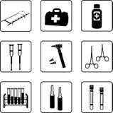 Matériel médical Images libres de droits