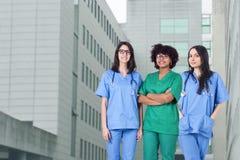 Matériel médical de personnes Photographie stock libre de droits