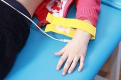 Matériel médical pour la mesure d'ECG Image libre de droits