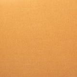 Matériel orange de tissu Images stock