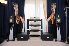 matériel sonore d'extrémité salut photo libre de droits