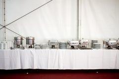 Matériels de cuisine en métal Photos stock
