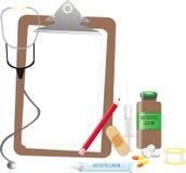 Matériels médicaux Photo stock