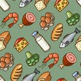 Mat stock illustrationer
