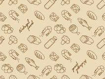 Mat royaltyfri illustrationer