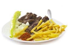 Mat av Balkansna Royaltyfri Fotografi