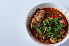 Mat av Thailand Royaltyfria Foton