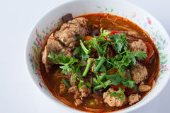 Mat av Thailand Royaltyfri Bild