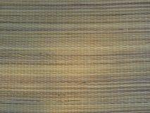 Mat Background Straw Weave Texture di bambù tessuto Stile di vita rustico fotografia stock libera da diritti