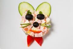 Mat för behandla som ett barn Arkivbilder