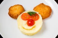 Mat för behandla som ett barn royaltyfri fotografi