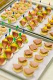 Mat för flygbolag Royaltyfria Bilder