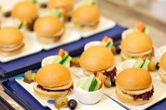 Mat för flygbolag Royaltyfri Bild