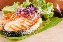 Mat för japan för laxbiff Arkivbild