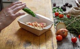 Mat för kondition arkivfoto