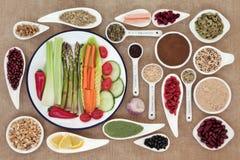 Mat för viktförlust Arkivbilder