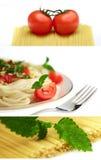 Mat från Italien royaltyfria foton