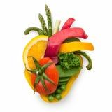 Mat för hjärta. Arkivbilder