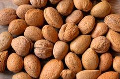mat inramniner blandad nuts serie arkivfoto