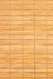 mat for the kitchen made of thin bamboo strip Stock Image