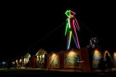 The Mat Night during Burning Man 2015 Royalty Free Stock Photo