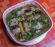 Mat nordostliga Thailand arkivfoto