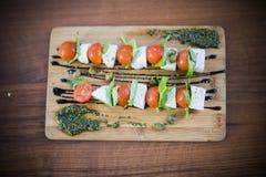 Mat- och drinkfoto vid ZVEREVA Royaltyfria Bilder