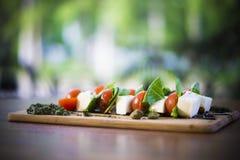 Mat- och drinkfoto vid ZVEREVA Arkivfoto