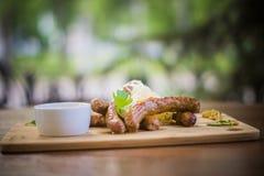 Mat- och drinkfoto vid ZVEREVA Royaltyfri Foto