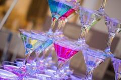 Mat- och drinkfoto vid ZVEREVA Fotografering för Bildbyråer