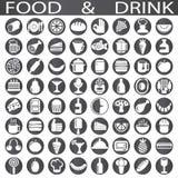 Mat- och drinksymbol Royaltyfria Foton
