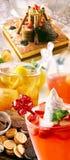 Mat och drycker Arkivbilder