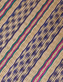 Mat patterns are oblique stripes on the background. Royalty Free Stock Photos