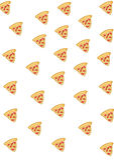 Mat: Pizzabakgrund royaltyfri bild