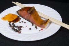 Mat platta, pinnar, peppar, isolering, Arkivbilder