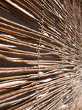 Mat of reeds Royalty Free Stock Photography