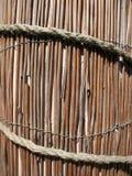 Mat of reeds Stock Photo