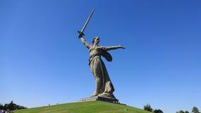 Mat Rodina - Volgograd Stock Afbeeldingen