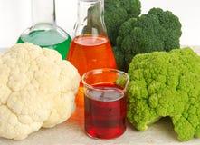 mat som ändras genetiskt Arkivfoton